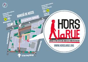 Carte de rue en Romani