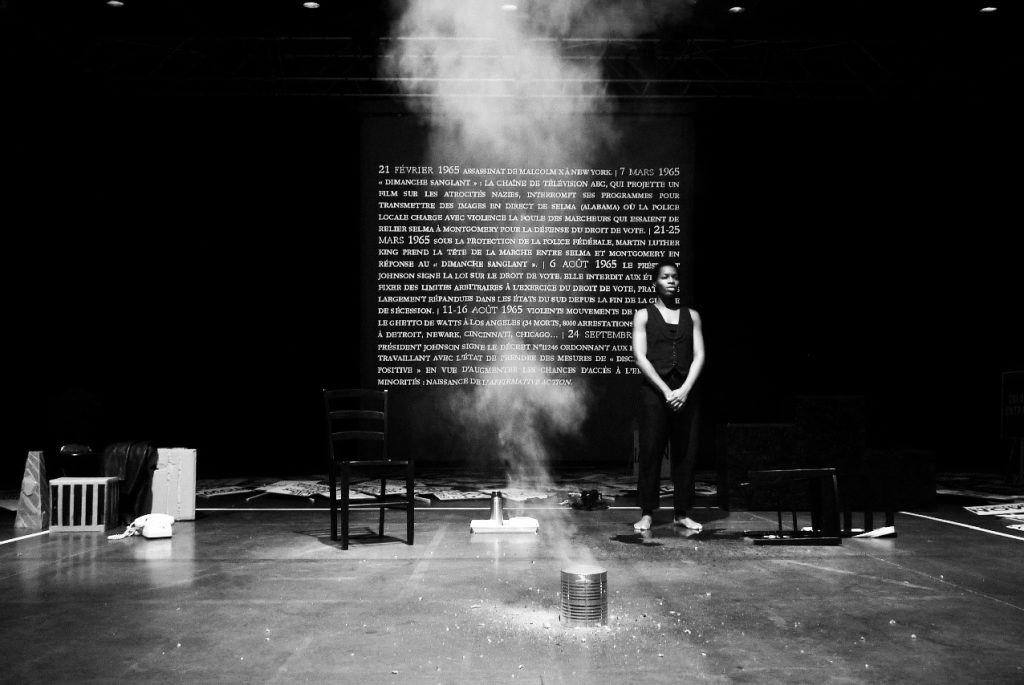 Pièce de théâtre 'I AM A MAN' d'Olivier Mouginot avec Laetita Lalle Bi Bénie